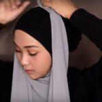 Hijab Tutorial Pashmina Simple