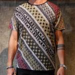 Kaos Batik Bali Diagonal