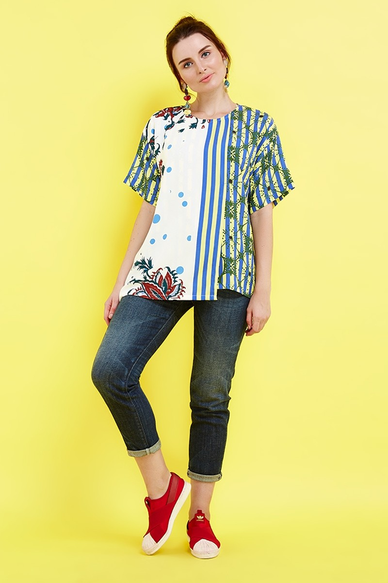 Model Baju Batik Danar Hadi Wanita Terbaru : Batik Modern ...