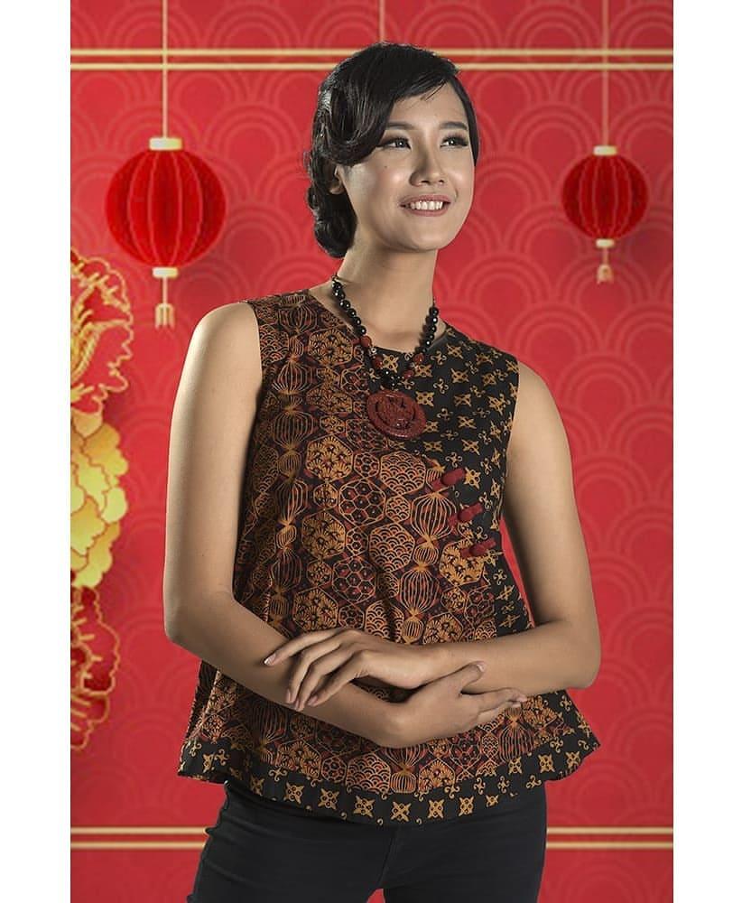 Model Dress Batik Keris Terbaru