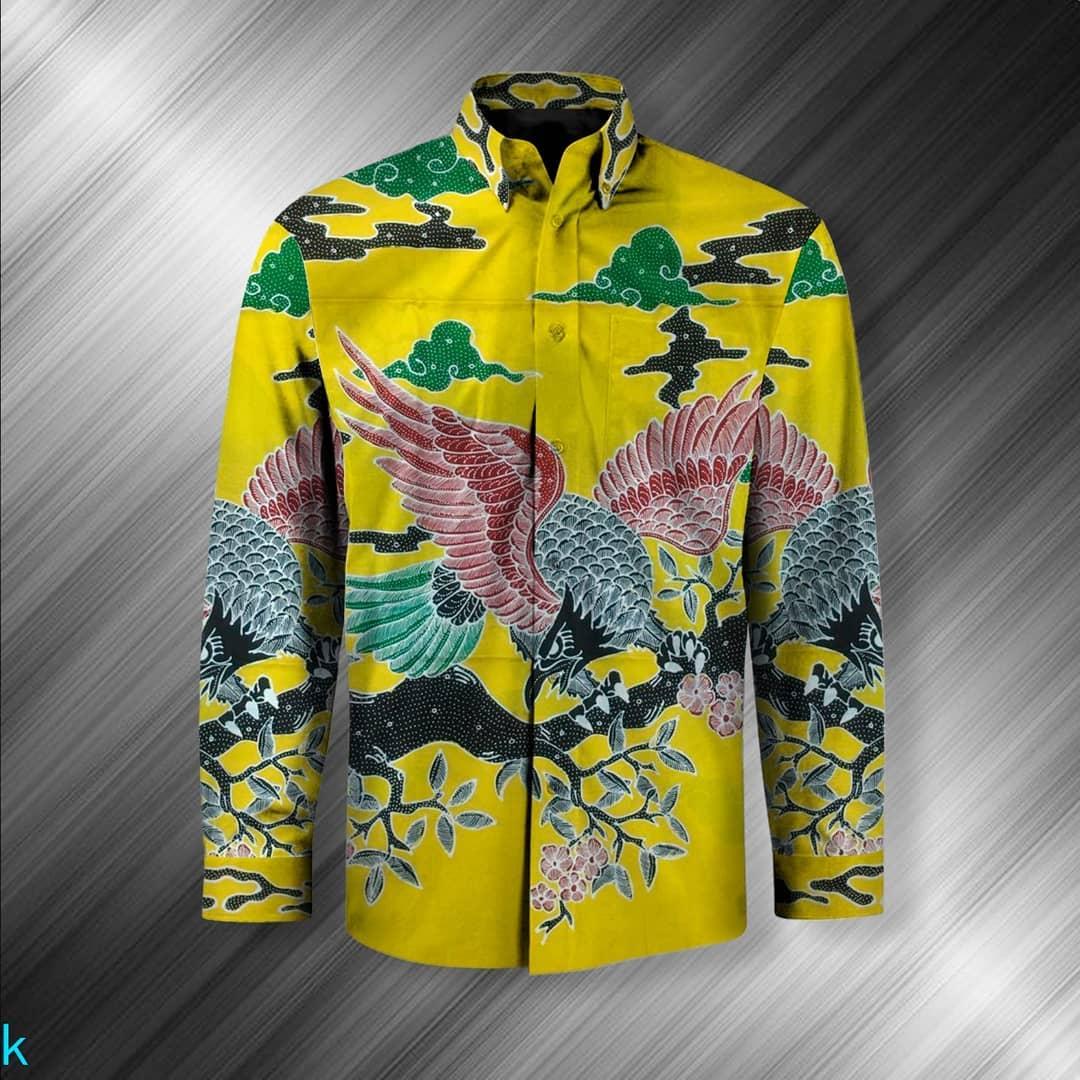 Motif Batik Burung Bali
