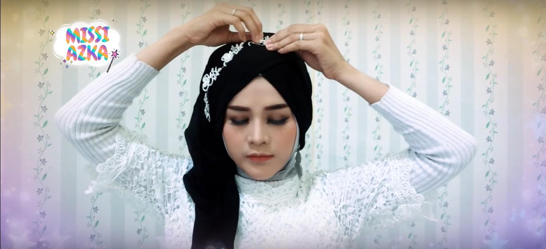Tutorial Hijab Acara Pesta
