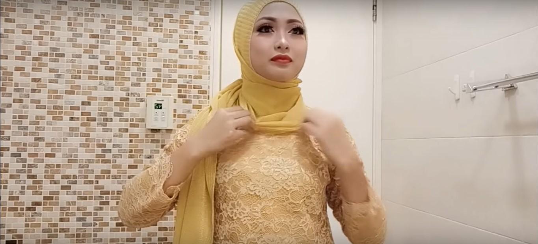 Tutorial Hijab Buat Kebaya