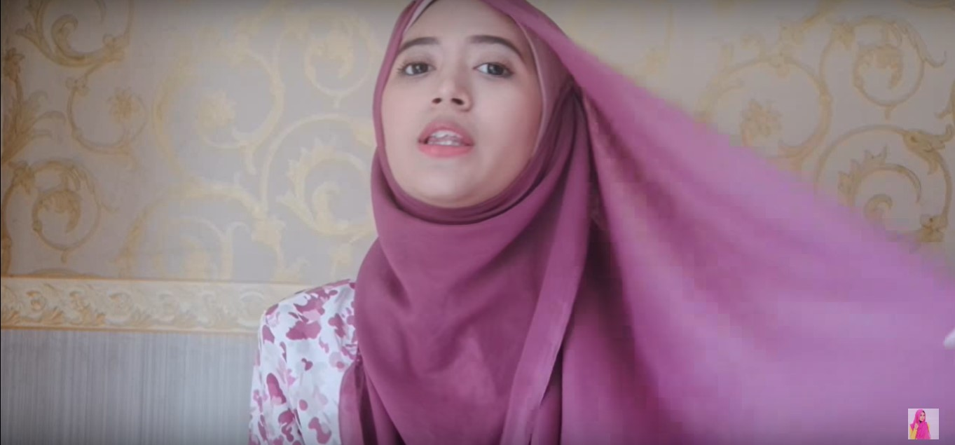 Tutorial Hijab Jilbab Paris