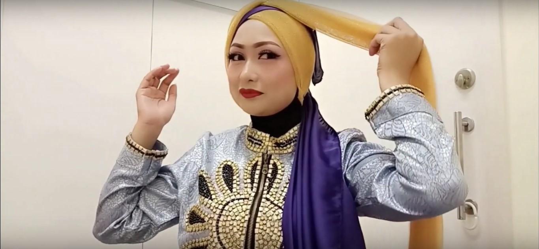 Tutorial Hijab Kebaya Kutu Baru