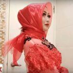 Tutorial Hijab Kebaya Pesta
