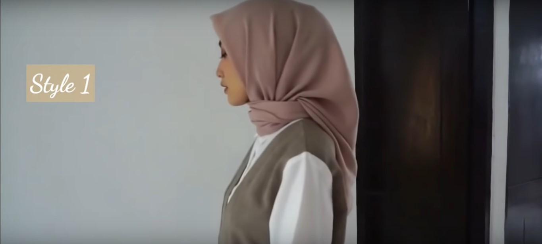Tutorial Hijab Kerudung Segitiga