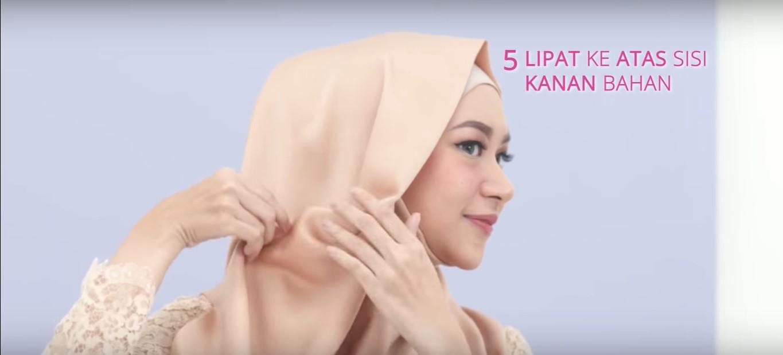 Tutorial Hijab Memakai Kebaya