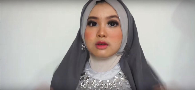 Tutorial Hijab Menutup Dada Untuk Pesta