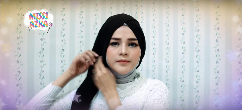 Tutorial Hijab Modern Pesta
