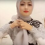 Tutorial Hijab Paris Pesta