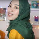 Tutorial Hijab Paris Pesta Simple