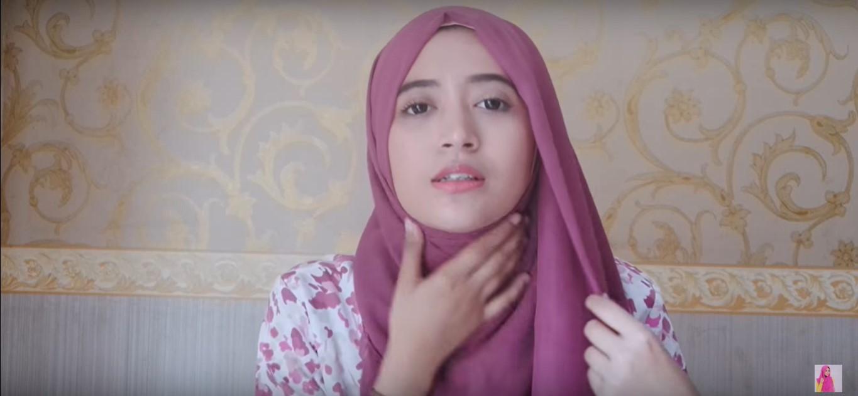 Tutorial Hijab Paris Segi Empat Dian Pelangi