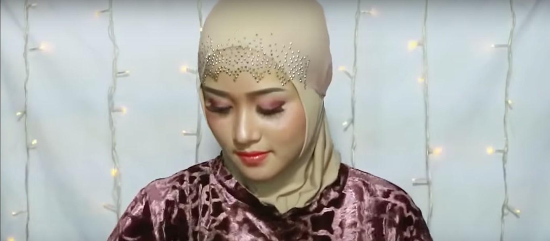 Tutorial Hijab Paris Segitiga