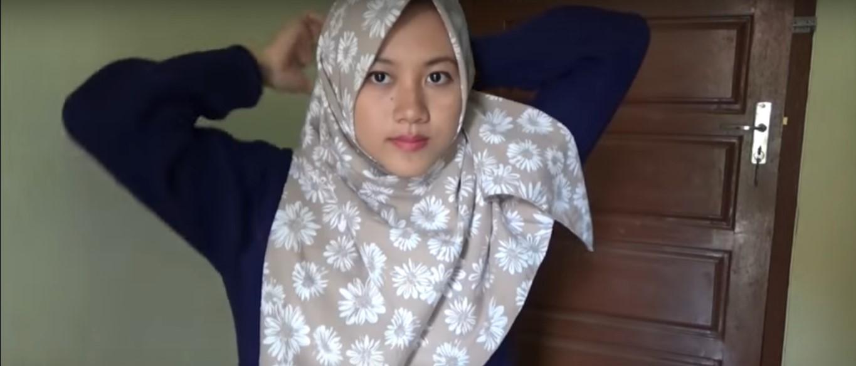 Tutorial Hijab Paris Segitiga Terbaru