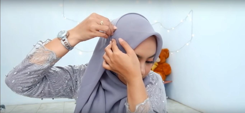 Tutorial Hijab Paris Simple Tanpa Ciput Ninja