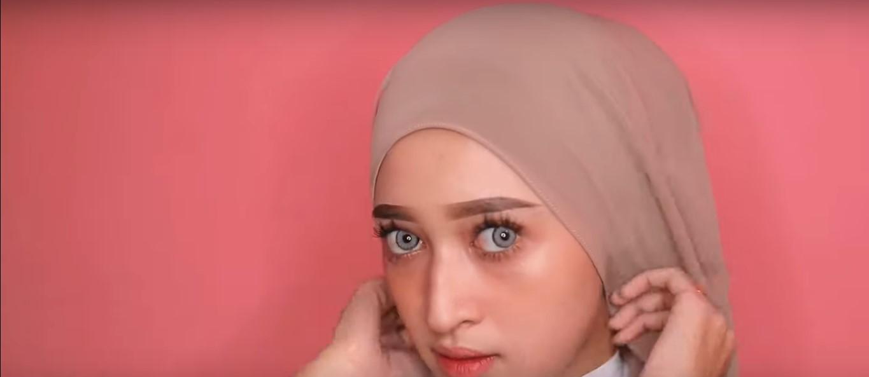 Tutorial Hijab Pashmina Buat Ke Pesta