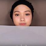 Tutorial Hijab Pashmina Pesta Simple