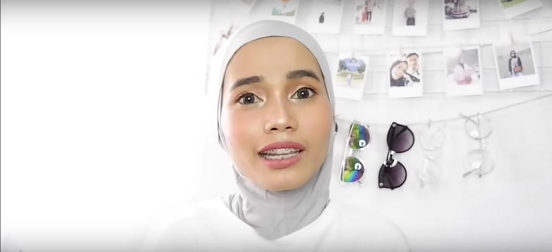 Tutorial Hijab Pashmina Renda Rawis