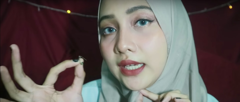 Tutorial Hijab Pashmina Tanpa Ciput