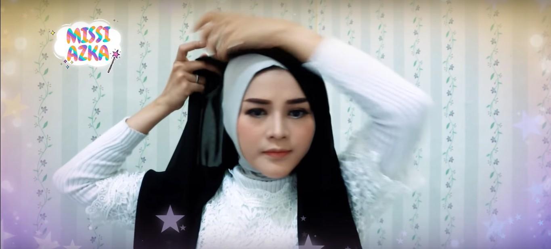 Tutorial Hijab Pesta Paris