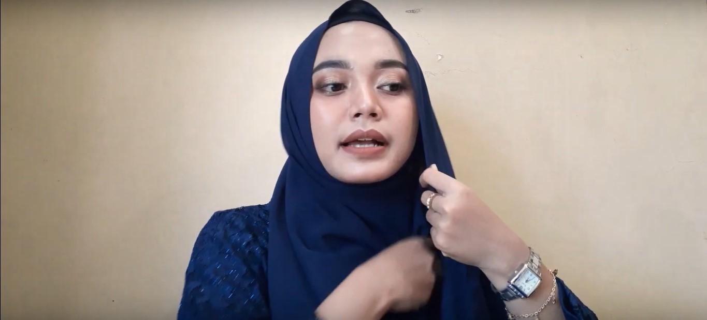 Tutorial Hijab Pesta Simpel