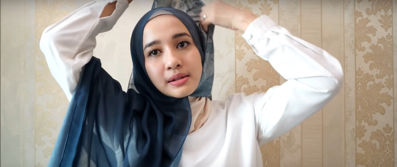 Tutorial Hijab Segi Empat Ke Pesta