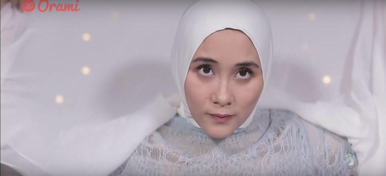 Tutorial Hijab Segi Empat Pesta Modern