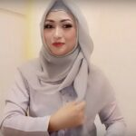 Tutorial Hijab Segi Empat Pesta Simple