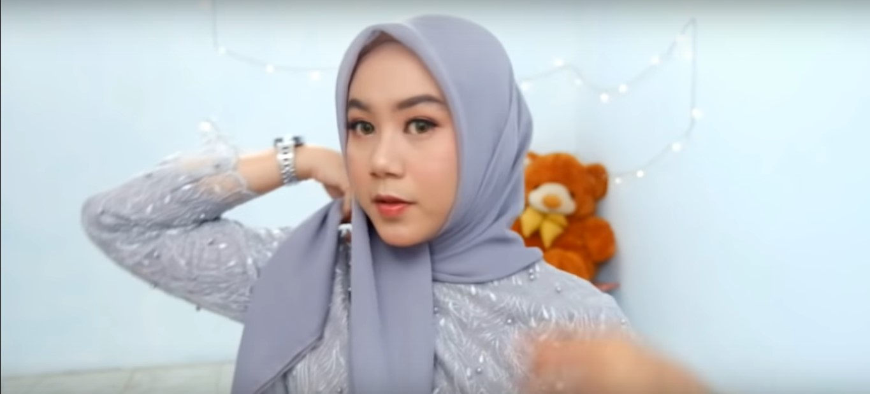 Tutorial Hijab Segi Empat Tanpa Ciput