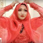 Tutorial Hijab Segi Empat Untuk Kebaya Wisuda