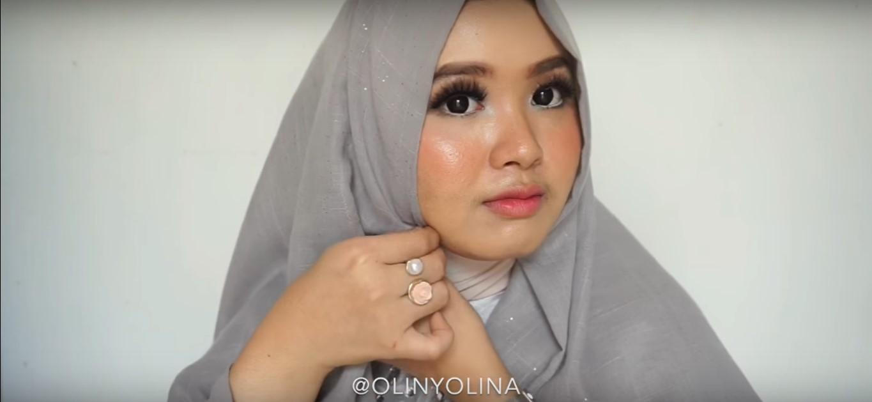 Tutorial Hijab Segitiga Pesta
