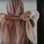 Tutorial Hijab Segitiga Satin