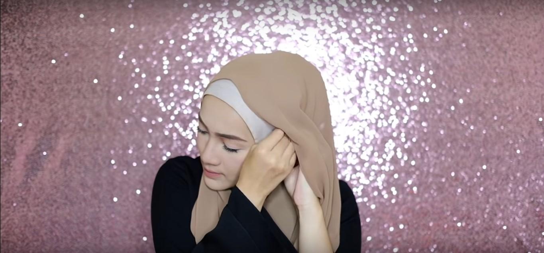 Tutorial Hijab Simple Casual