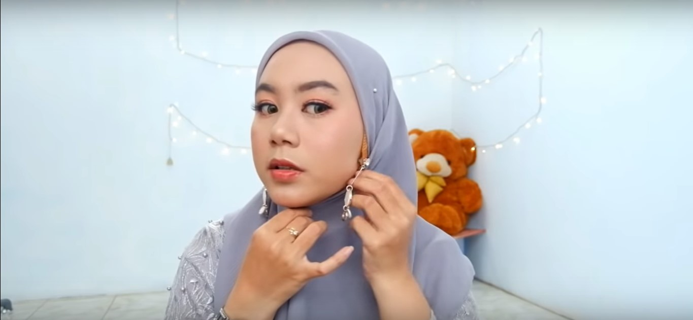 Tutorial Hijab Simple Pashmina