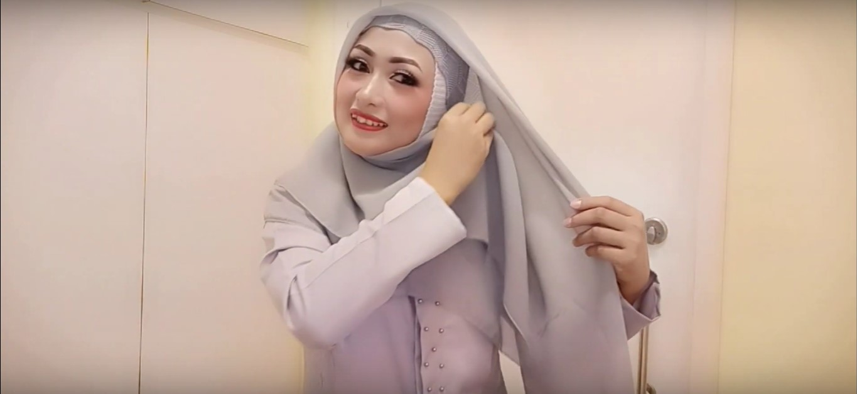 Tutorial Hijab Simple Untuk Pesta