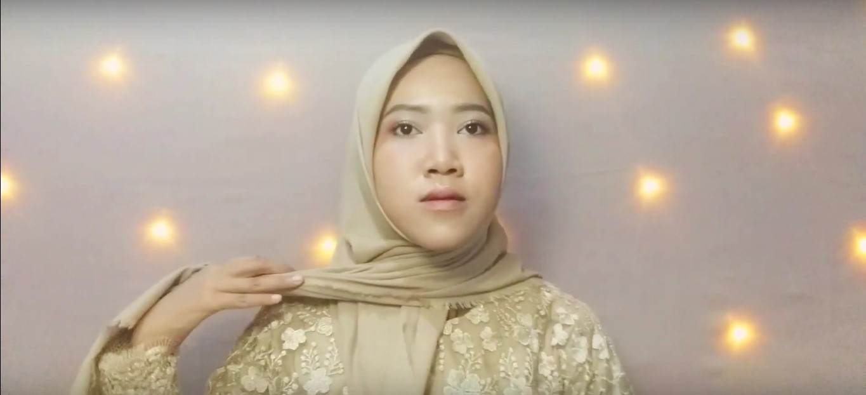 Tutorial Hijab Syar'i Untuk Kebaya