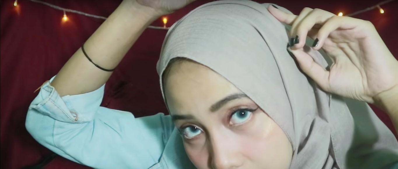 Tutorial Hijab Tanpa Ninja