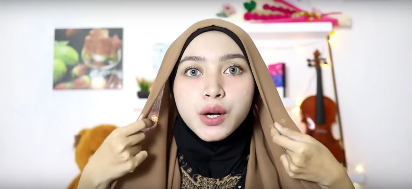 Tutorial Hijab Turban Paris Segi Empat