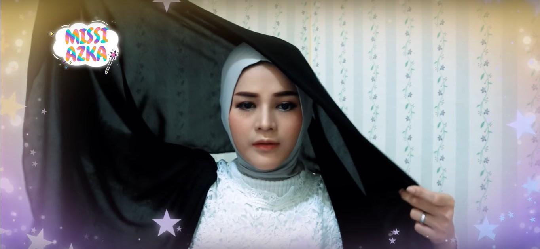 Tutorial Hijab Turban Untuk Ke Pesta