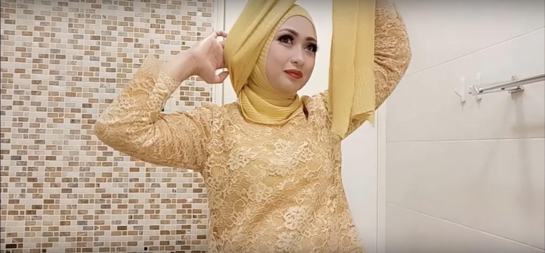 Tutorial Hijab Untuk Baju Kebaya