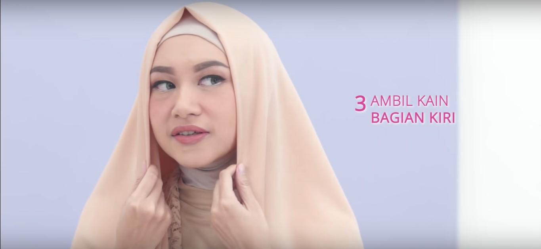Tutorial Hijab Untuk Kebaya Pesta