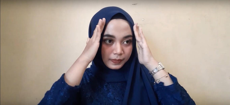 Tutorial Hijab Wajah Bulat Untuk Pesta