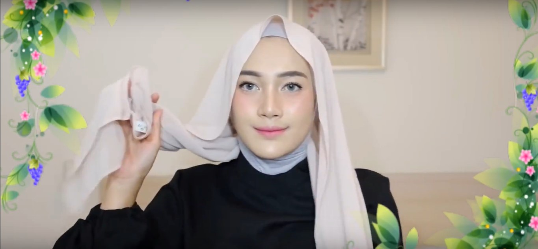 Tutorial Hijab Wisuda Pashmina