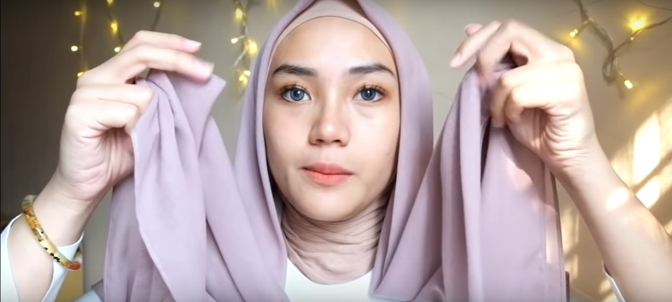 Video Hijab Tutorial Segi Empat