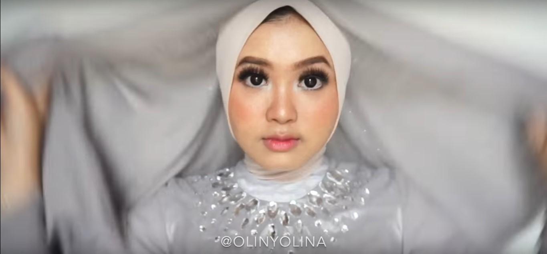 Video Tutorial Hijab Pesta Pernikahan