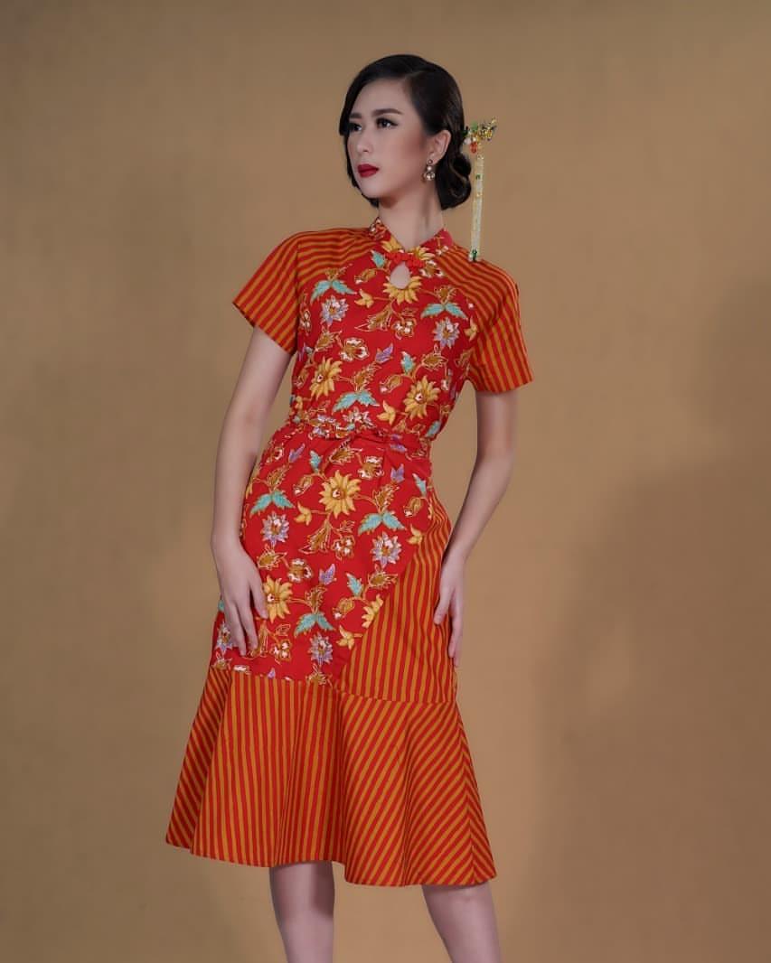 Baju Batik Keris Modern
