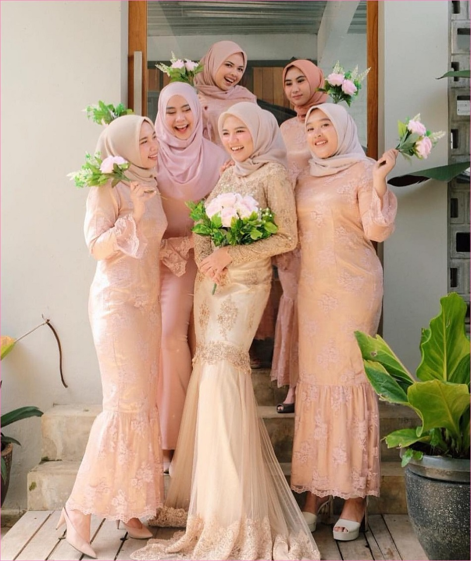 Baju Bridesmaid Model Mermaid