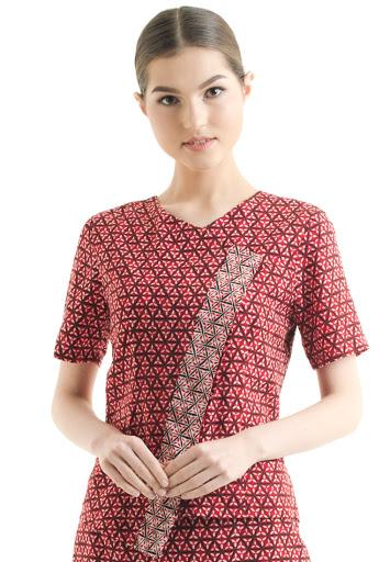 Batik Bali Motif Kembang Soka