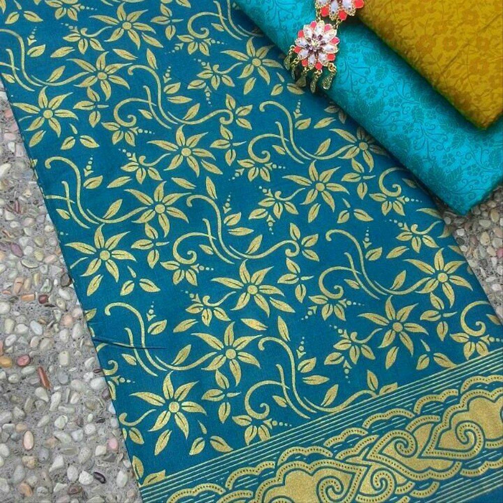Batik Kalimantan Motif Kembang Kenanga
